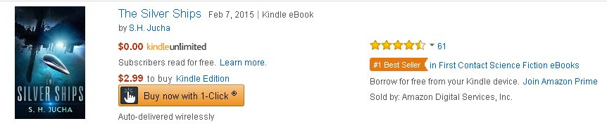 Amazon #1 Best Seller - First Contact Category