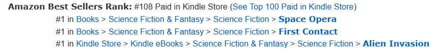 Meridien Reaches #1 on Amazon